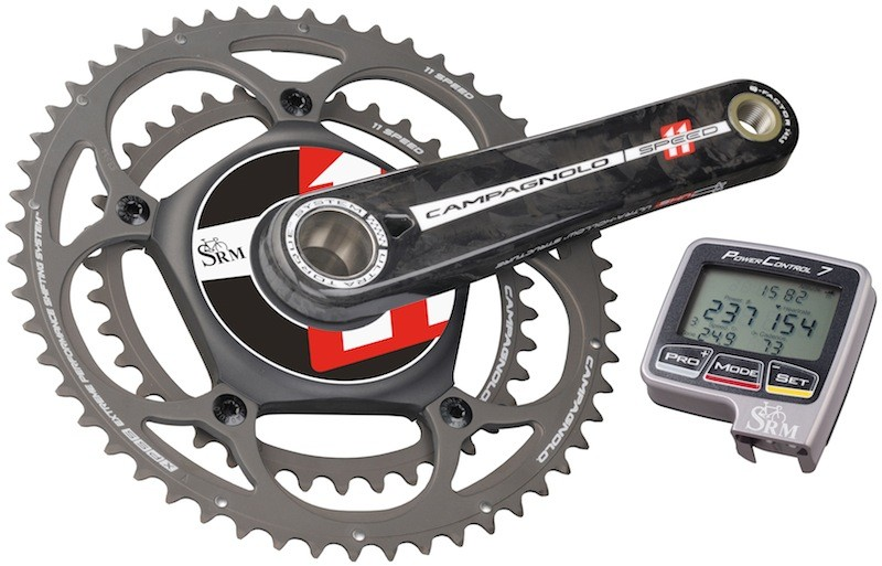 SRM's new Campagnolo PowerMeter