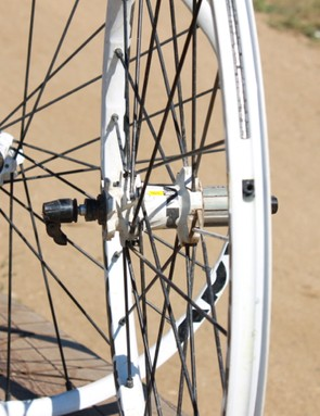 Mavic's new rim only measures 21mm, internally; we'd like it if they were wider
