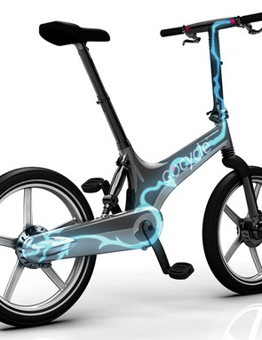 Electronic shifting is available as an option on the Gocycle G2