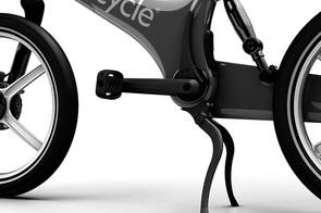Gocycle G2 kickstand