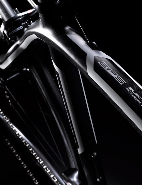 Pinarello built custom bikes for the launch of Campagnolo's EPS components