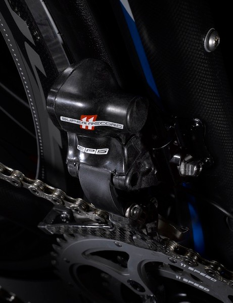 Campagnolo tested the EPS front derailleur to operate under 1m of water for 30 minutes without leaking