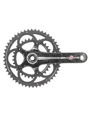 EPS works with Campagnolo's compact 34/50-tooth crankset