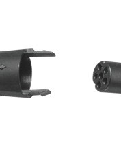 The EPS wiring system features sealed double-lock connectors