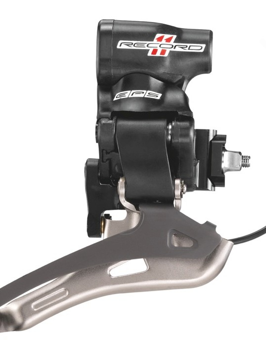 Full view of the Record front derailleur