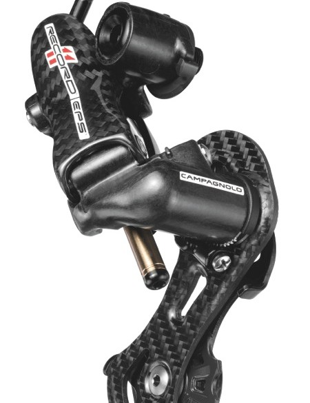 The Record EPS rear derailleur