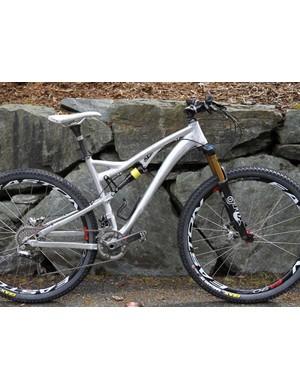 The Satori is Kona's take on the 29er all-mountain bike