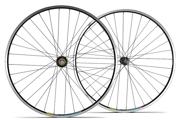 Hope Hoops Pro III RS-Mono on Mavic Open Pro road wheelset