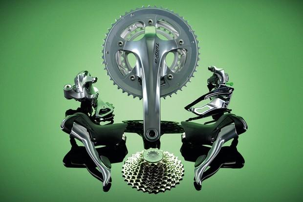 Shimano Tiagra 10-Speed transmission