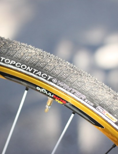Continental's TopContact Winter 2 tire