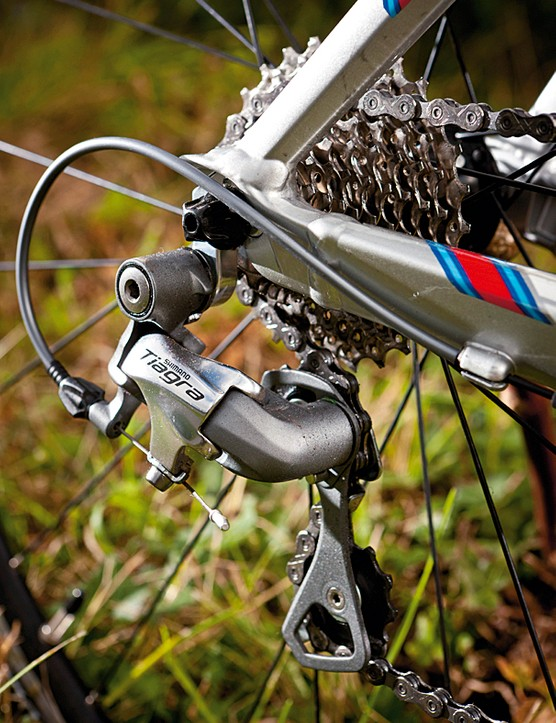 Shimano Tiagra 10-speed is a great choice of drivetrain