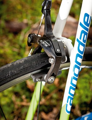 Shimano105 brakes and gears do a great job