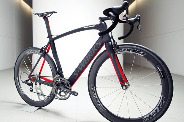 Specialized's top-end S-Works + McLaren Venge carries an enormous $18,000 retail price - and yet the company say the entire stock is pre-sold