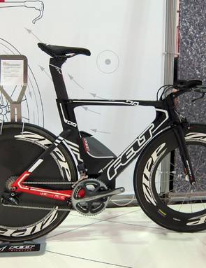 Felt are sometimes thought of as more of a value company rather than a performance one but that perception is turning around thanks to impressive hardware like this Shimano Dura-Ace Di2-equipped DA time trial machine
