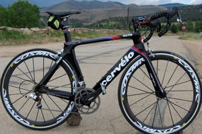 Cervélo offer the S5 aero road frame in three different levels, all with the same aerodynamic performance. The top-end S5 VWD frameset costs $5,900 but the standard version is half that at $3,000