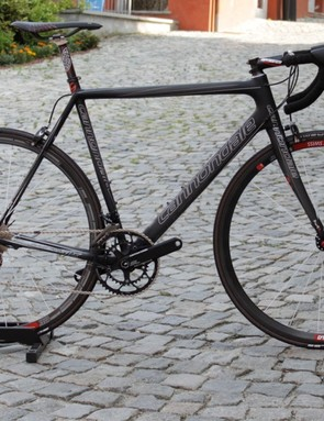 Cannondale's SuperSix Evo Ultimate costs a whopping $12,100 but more budget-minded riders can have nearly the same performance with the $5,500 SuperSix Evo 2 Red