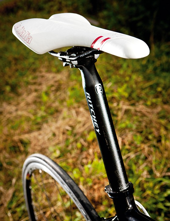 Selle Italia's X1 is well padded for long-distance rides