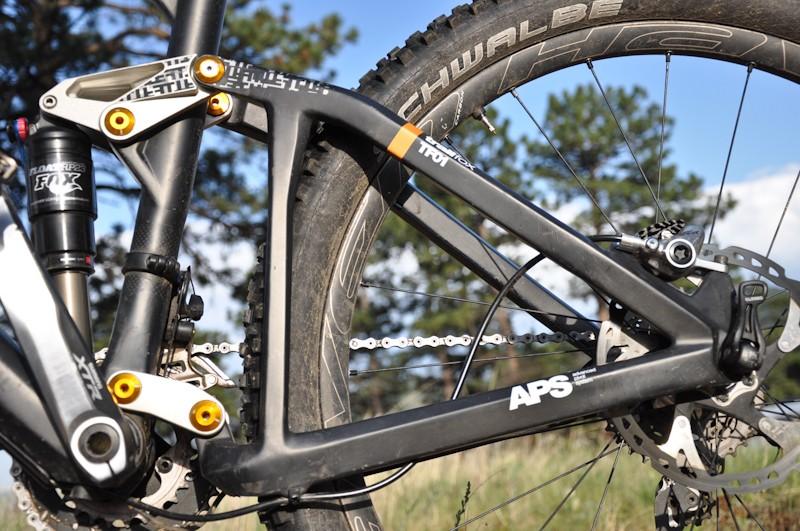 BMC Trailfox TF01 - rear end