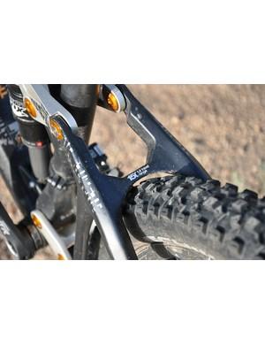 BMC Trailfox TF01 - tire clearance