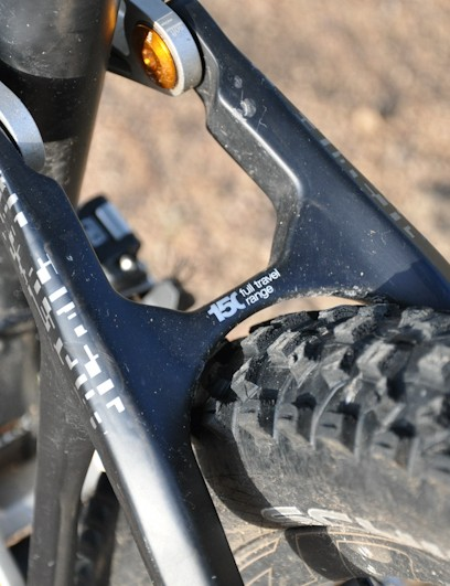 BMC Trailfox TF01 - tire clearance