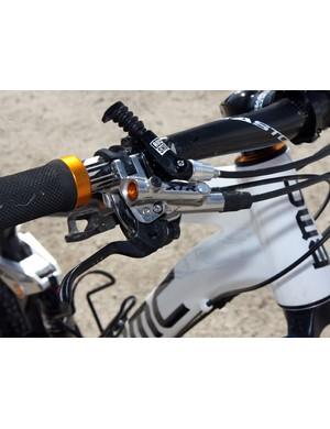 BMC Trailfox TF01 - RockShox Reverb seatpost remote