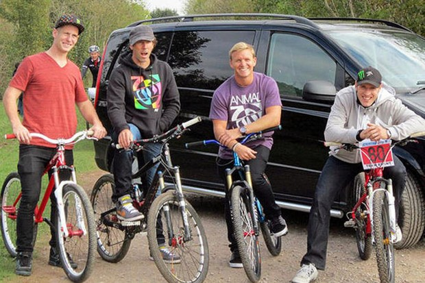 We'll be bringing you the full series from the Bike Riders United crew