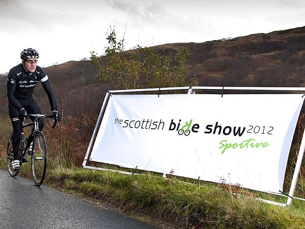 The sportive route is said to be challenging and features a two-kilometre climb with an 10 percent average gradient