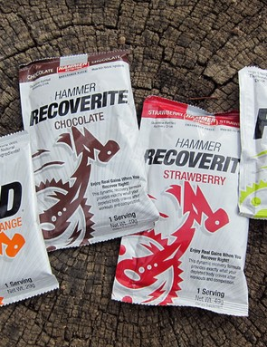 Hammer Nutrition offer a variety of drink mixes depending on your needs, including standard HEED, Perpetuem for more endurance-type events, and Recoverite for post-exercise