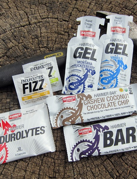 Hammer Nutrition's impressively broad product mix also includes a variety of bars, gels, and even electrolyte supplements to stave off cramps