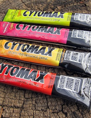 Cytomax have added new single-serve packets of their popular drink mix. You'll need two per standard water bottle, though