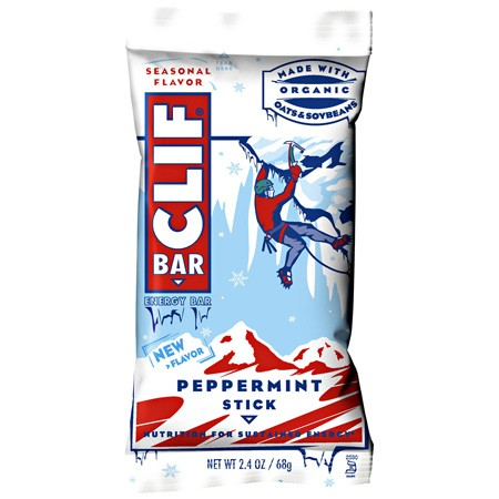 Clif Bar's seasonal flavors are back yet again, with Peppermint Stick joining traditional favorites Spiced Pumpkin Pie and Iced Gingerbread