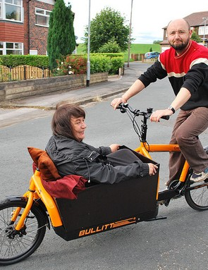 The sperm bike is a modified Harry vs Larry BULLITT cargo bike