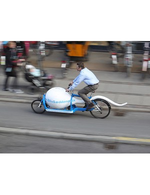 Seattle Sperm Bank are now using a bike like this for deliveries