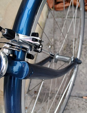 The distinctive forks of the Raleigh Clubman
