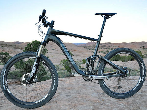 Over 150 bikes, including this Trance X1, are available from the new store