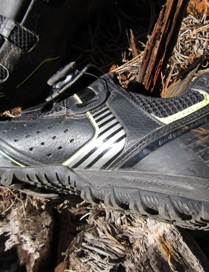 The Rime has ample foam cushioning in its heel
