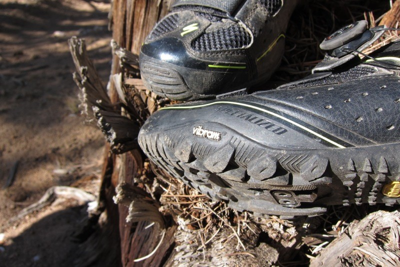 The outsole is Vibram rubber, which gives excellent grip on rock and most trail surfaces