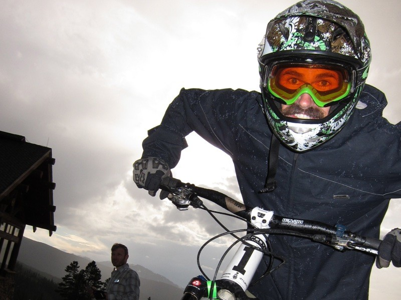 Ross Schnell at the inaugural Trestle All-Mountain Enduro presented by Trek