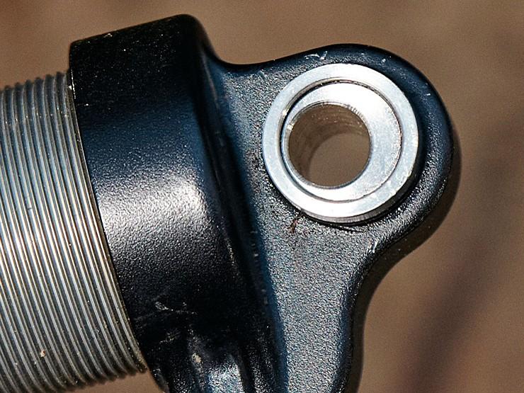 Burgtec Offset shock hardware