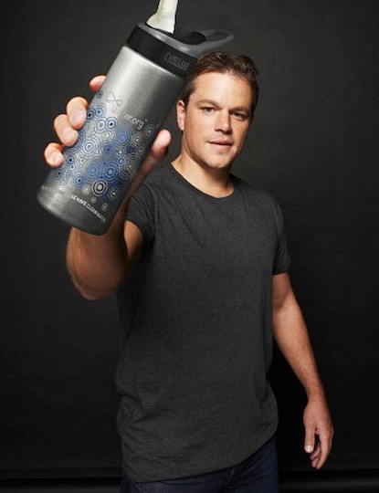 Water.org was co-founded by Matt Damon (pictured) and social entrepreneur Gary White