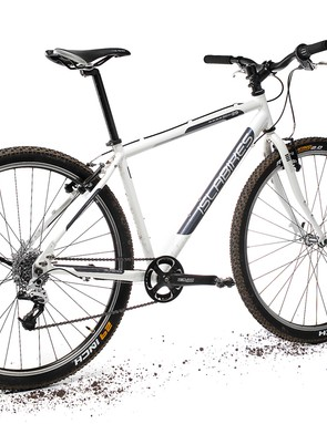 Bags of ride position adjustability and a bevy of bosses make this one versatile bike