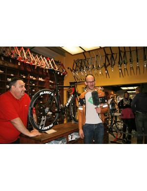 Frank Campbell and Brant Richards, the brains behind the Planet X road range