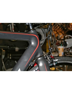 The new Planet X RT57 is spec'd with a very non-entry-level tapered-steerer fork