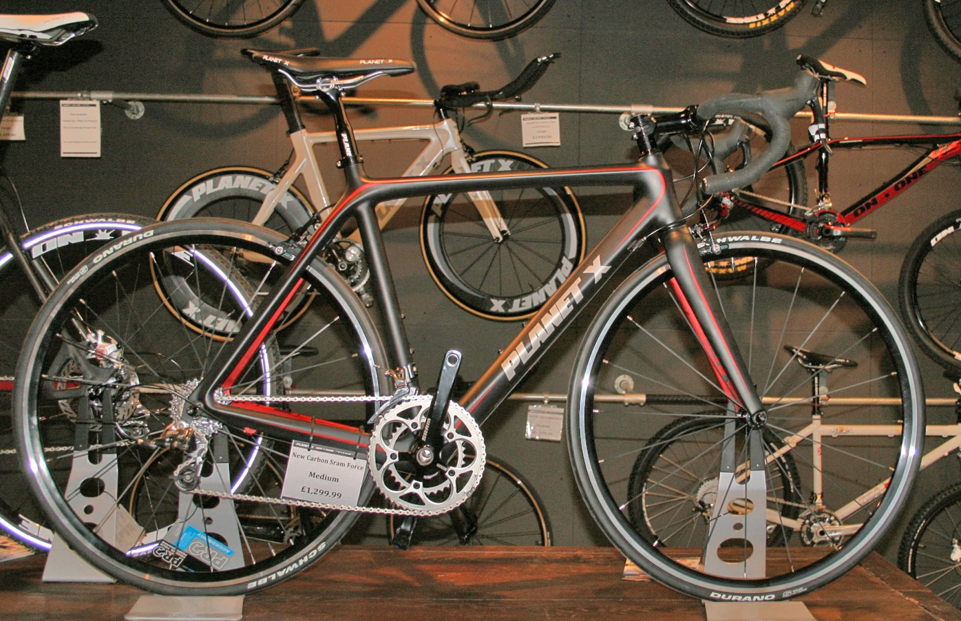 Planet X Carbon with SRAM Force, £1,299
