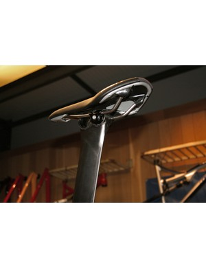A twin position seatpost helps you optimise your pedalling platform on the Planet X Exocet 2