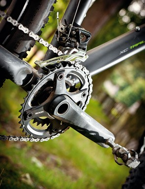 SRAM transmission translates your leg power to the trail