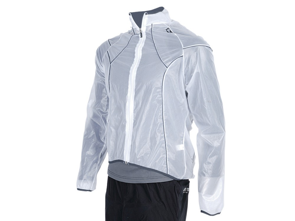 Santini 365 Transparent waterproof jacket