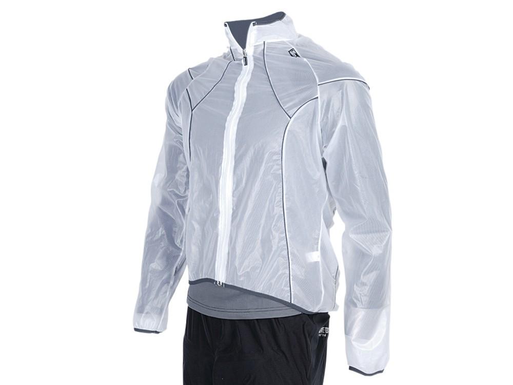 Santini 365 Transparent waterproof jacket