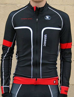 Vermarc Forma Red Carbon Long Sleeve jersey
