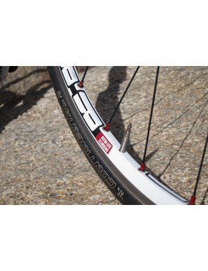 DT Swiss's mon Chasseral wheelset is quite light but we found it to be flexible as well